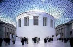Great Court in the British Museum