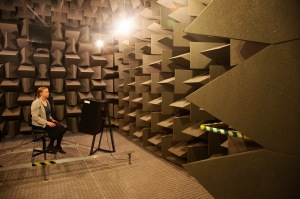 Anechoic Chamber, University of Salford