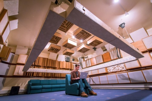 Wavefield Synthesis System in University of Salford's Listening Room